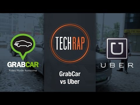 GrabCar vs Uber (TechRap)