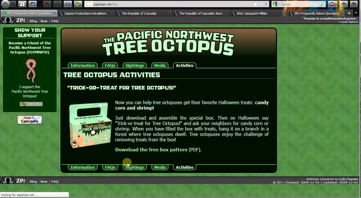 Octopus Facts For Kids Site Youtube Com