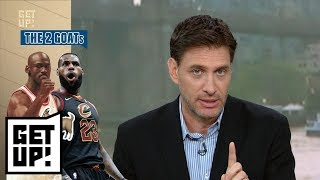 Mike Greenberg has some thoughts on the LeBron James-Michael Jordan debate   Get Up!   ESPN