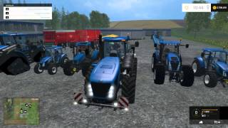 Farming Simulator 2015 New Holland Tractor Mods Pack
