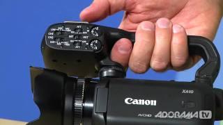 Canon Vixia XA10: Product Reviews: Adorama Photography TV