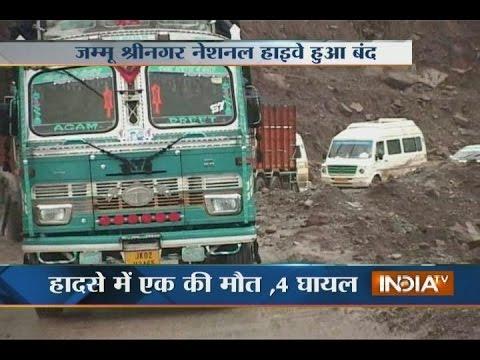 Jammu-Srinagar Highway Closed Due to Landslide