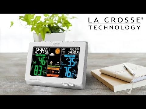 New 2014 Wireless Color Weather Station