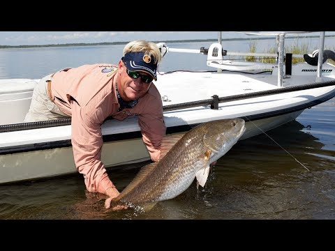 The Goon - REDFISH fishing on Mogan Spoons
