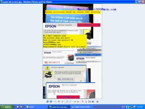 epson SX235 resetter SX200SX205SX210SX215SX218SX230SX235 resetter