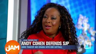 "Star Jones Discusses Andy Cohen, SJP and ""Mean Girl"" Environment on SATC with Kim Cattrall"