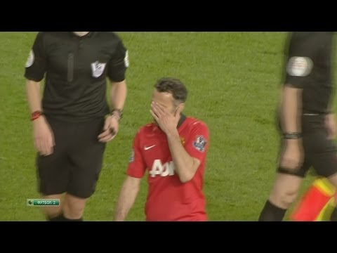 Ryan Giggs vs Hull City (H) 13-14 HD 720p LAST GIGGS'S MATCH FOR MANCHESTER UNITED