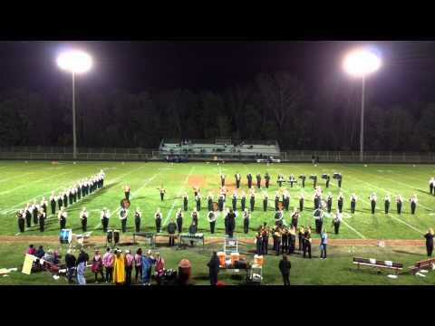 Tinley Park High School Band Half Time Performance (10/10/15)
