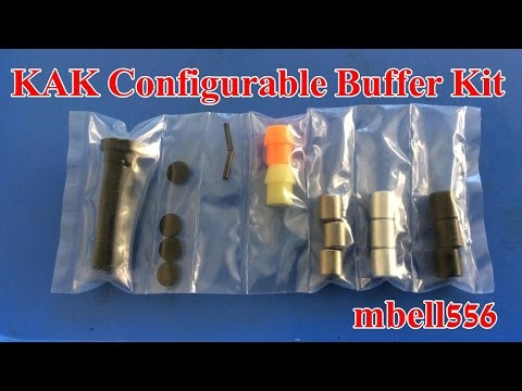 KAK Industry AR 15 Configurable Buffer Kit Review