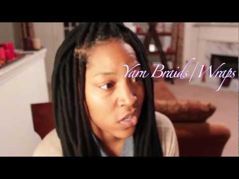 How To  Yarn Braids/Wraps