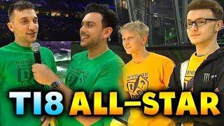 TI8 ALL STAR MATCH - MUTATION MODE! - THE INTERNATIONAL 2018 DOTA 2