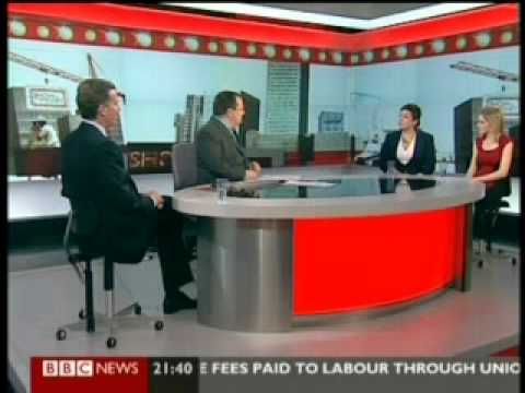 J. Timothy Richards BBC World News - Show Me The Money 15th April 2012
