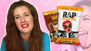 Irish People Try Cardi B Rap Snacks