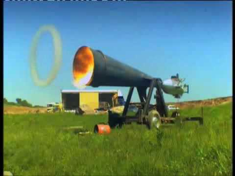 Giant Vortex Cannon Music Videos