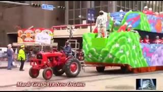 2018 Mardi Gras Parade, New Orleans, La