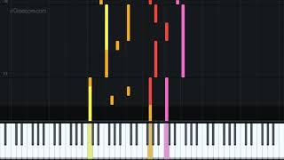 Right Beside Me - Willy Deals Version by Rebekah Eisenmenger [Piano Tutorial + Sheet music]