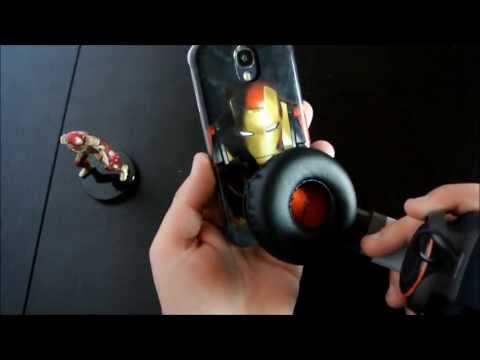Iron Man cover per Galaxy S4 in un video by HDblog