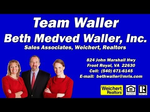 Learn more about Team Waller Realty at WarrenCountyVa.com http://bit.ly/1nLS3Yd.