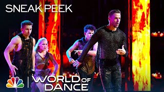 World of Dance 2019 - Michael Dameski, Derek Hough, Charity & Andres