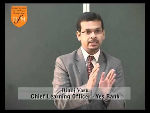 Guest lecture on MBA and campus recruitments at IIFM's Mumbai campus-- by Binoj Vasu
