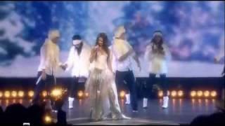 Клип Нюша - Новогодняя песнопения (live)