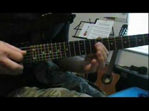Yngwie Malmsteen Trilogy suite Op.5  lesson by Brian Auer