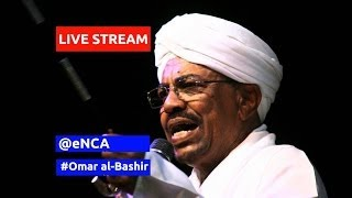 Sudan president Omar al-Bashir detention hearing in South Africa court - June 15, 2015