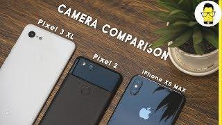 Google Pixel 3 XL vs iPhone XS Max vs Pixel 2 camera comparison: the BIG flagship fight