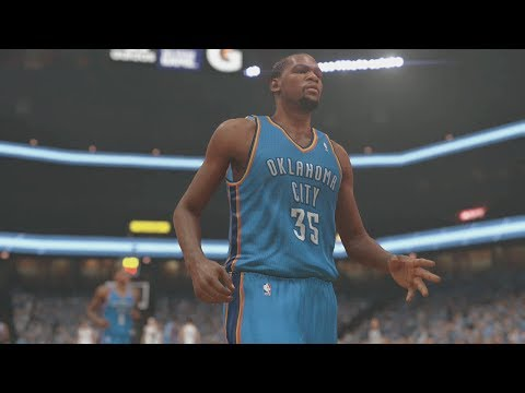 NBA 2K14 (PS4): Memphis Grizzlies vs Oklahoma City Thunder Round 1 - Game 3 Sim