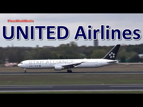 United Boeing 767-400 *Star Alliance* takeoff from Berlin TXL