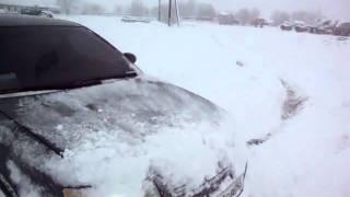 Audi A4 1.8T  тест-драйв на снегу