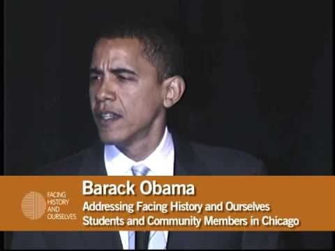 barack obama quotes on change. Barack Obama Speaks to Facing