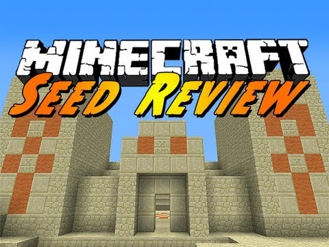 Minecraft Seed Review : Awesome Spawn!