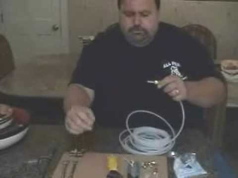 Plumbing Training Installing An Ice Maker Kit Youtube
