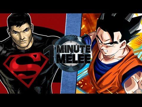 One Minute Melee S5 EP1 - Gohan vs SuperBoy (DBZ vs DC)