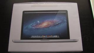 Late 2011 MacBook Pro 15 Unboxing - October 24th Model