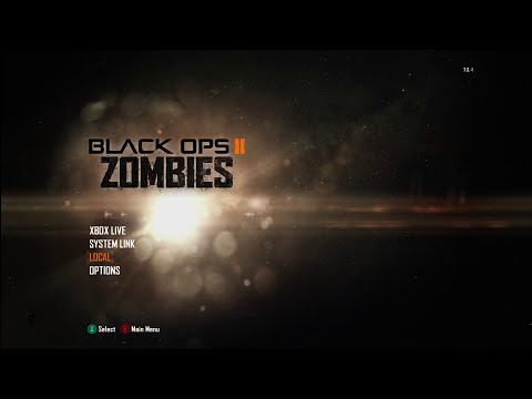 Call of Duty Black Ops II Zombies Gameplay!!! (Xbox 360)