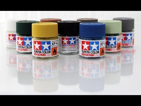How To Airbrush Tamiya Acrylic Paint