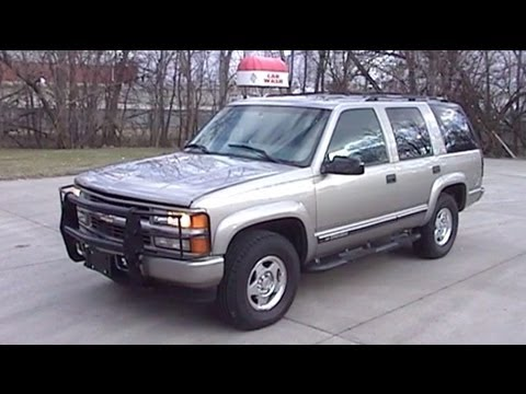 2000 Chevrolet Tahoe Overview and Test Drive