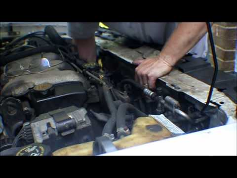 change    malibu radiator part