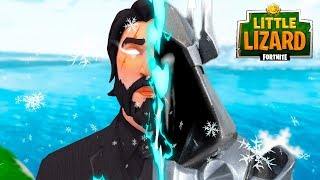 JOHN WICK BECOMES THE WHITE KNIGHT!!! - Fortnite Short Film