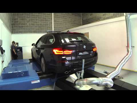 JF Automotive - BMW 530D Engine Tuning On The Dyno