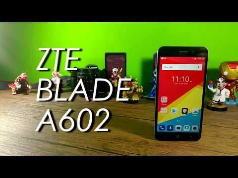 ZTE Blade A602. Review en Español