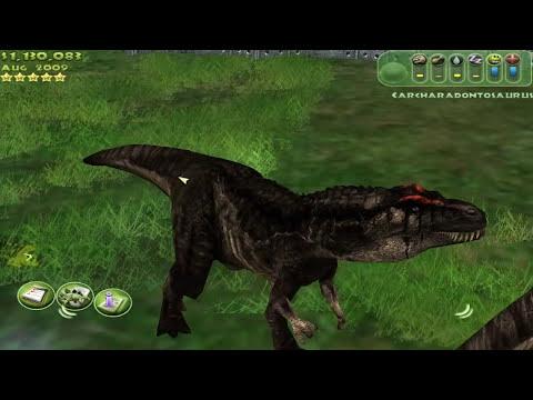 Jurassic Park: Operation Genesis - Episode 38 - Carcharodontosaurus