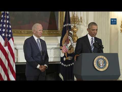 President Obama Awards the Presidential Medal of Freedom to Vice President Biden