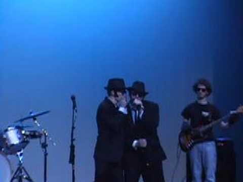 A skit that my brother put together with his friend. It is based on the Blues Brothers movie.