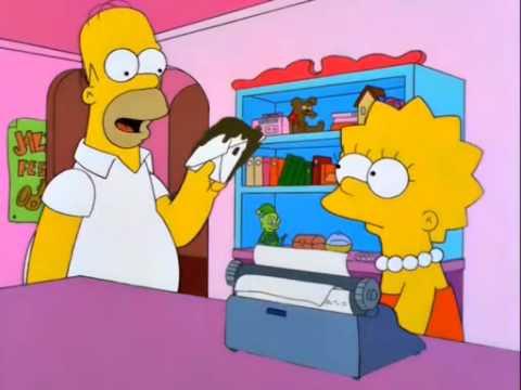 robar es malo - Homero Simpson