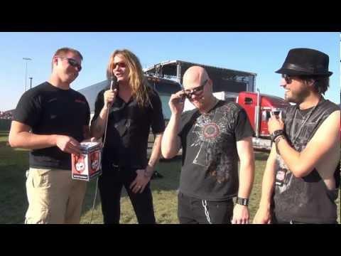Sebastian Bach Interview - LAZERfest 2012 - Backstage Entertainment