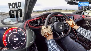 2018 VW Polo GTI (200hp) - 0-100 km/h LAUNCH CONTROL (60FPS)