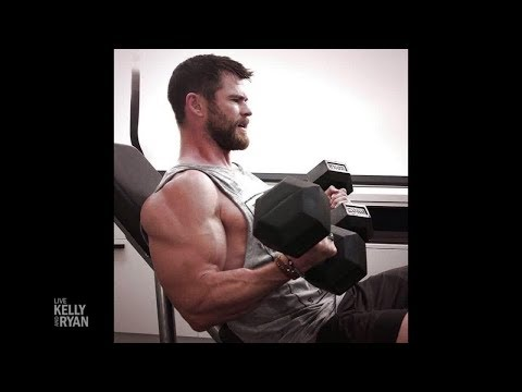 Chris Hemsworth Has Muscles No One Has Ever Seen Before